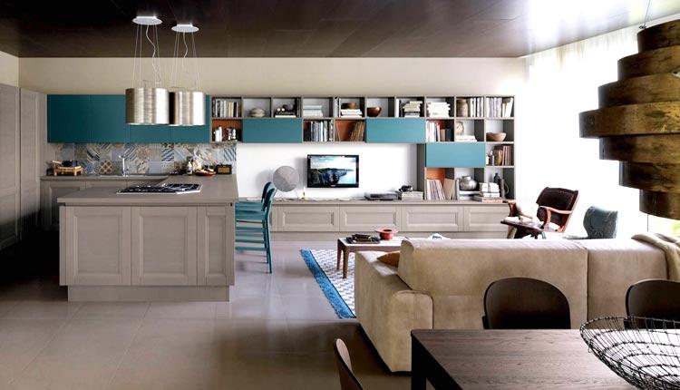 Cucine ristrutturate - Cucina Living