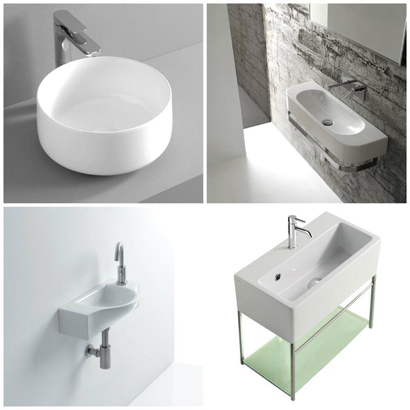 Lavabi adatti per piccoli bagni