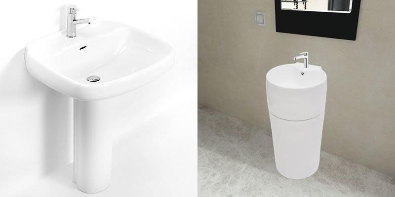 lavabo con colonna da bagno modelli economici