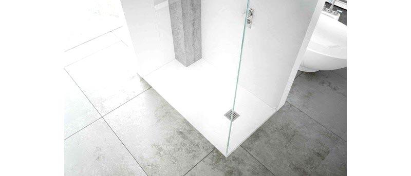 Piatto doccia a filo pavimento Silex