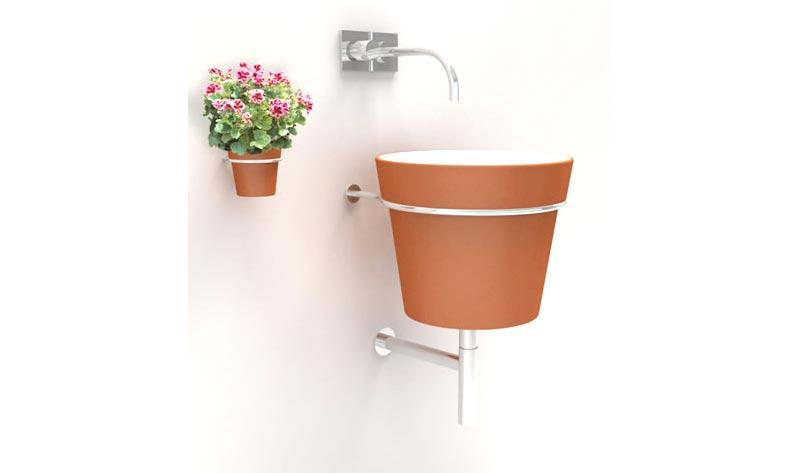 Risparmiare costo bagno con elementi di recupero 8