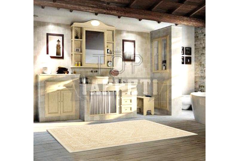 Rinnovo pavimento bagno con tappeto