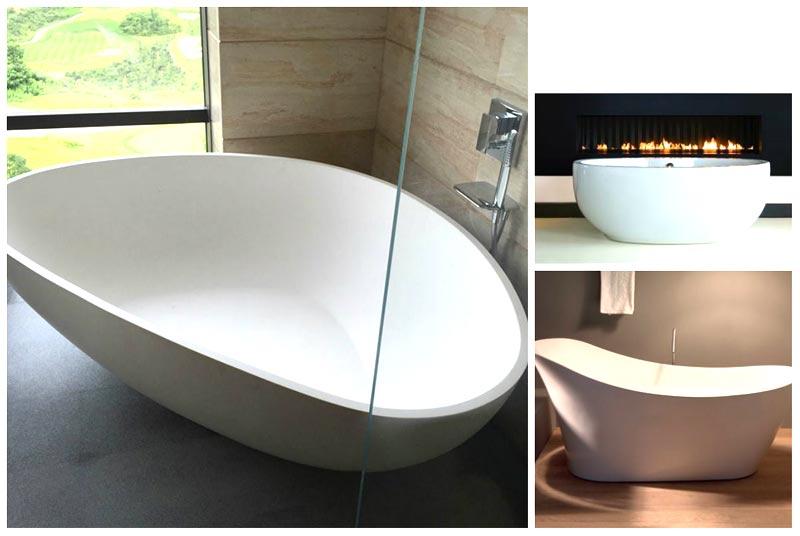Vasche sceniche moderne