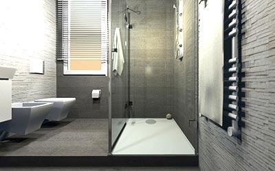 Bagno Con Doccia Al Centro : Progetti di rifacimento della sala da bagno esempi di soluzioni reali