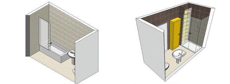 Progetto rifacimento bagno