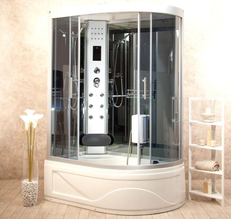 Vasca da bagno piccola con doccia foto 2