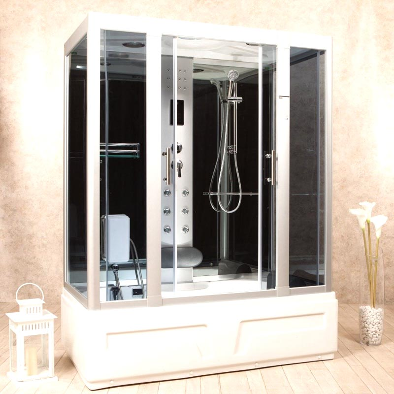 Vasca da bagno piccola con doccia foto 3