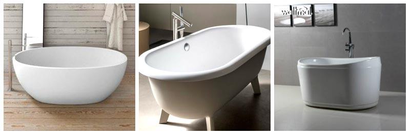 Vasche da bagno ovali piccole