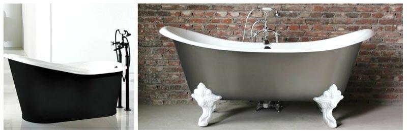 Vasche da bagno piccole in ghisa