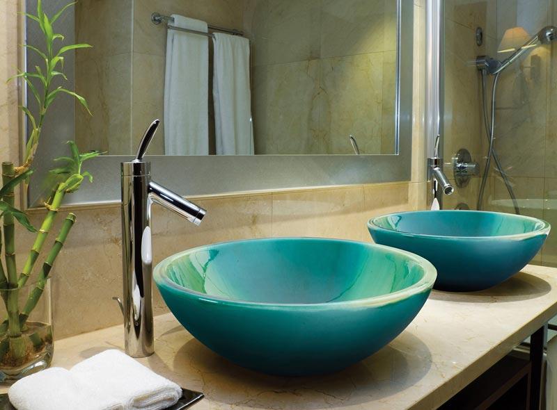 Lavabi bagno colorati foto 5