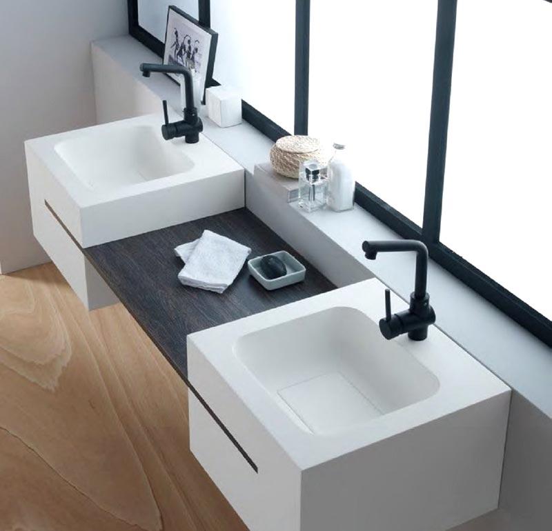 Piani per lavabo bagno foto 4