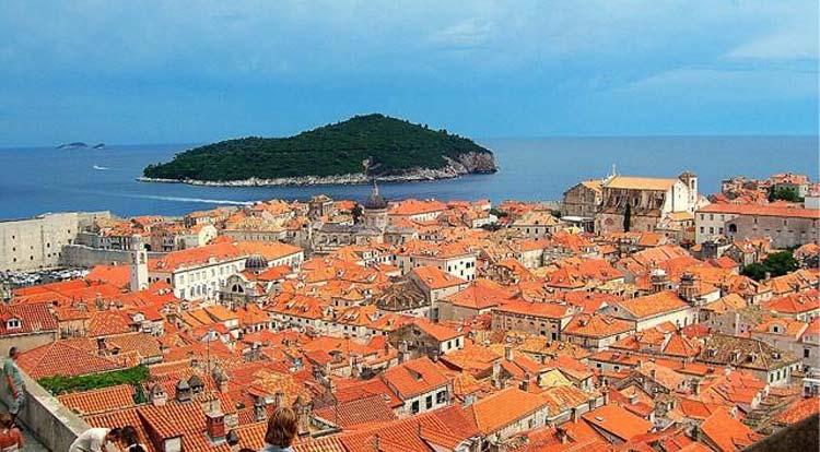 Foto tetti Dubrovnik