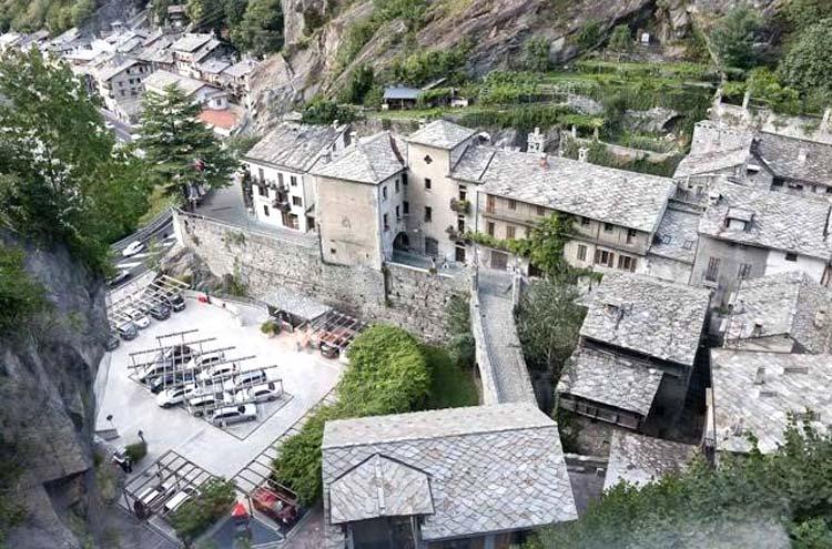 Foto tetti Alpi