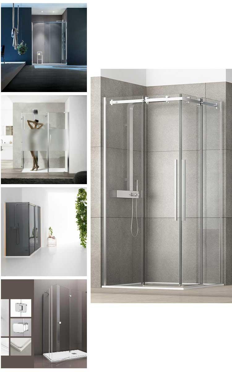 Box doccia delle migliori marche collage