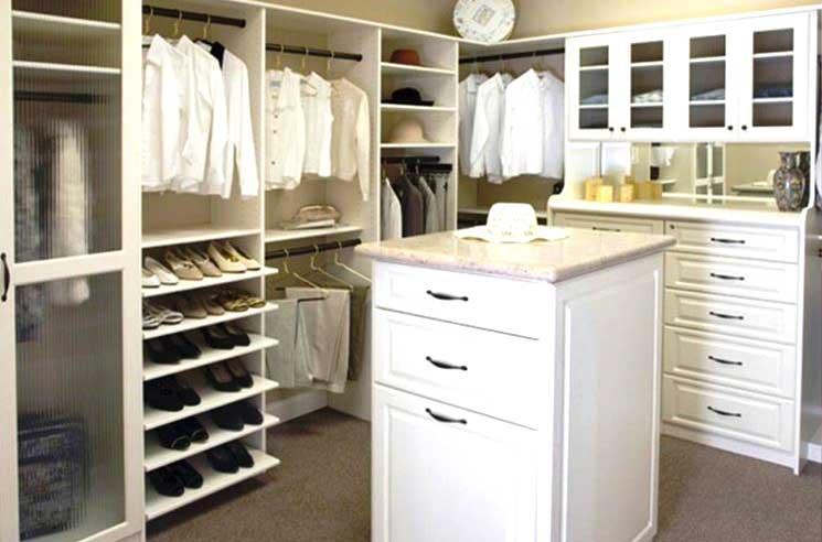Cabina armadio in cartongesso foto esempio 3