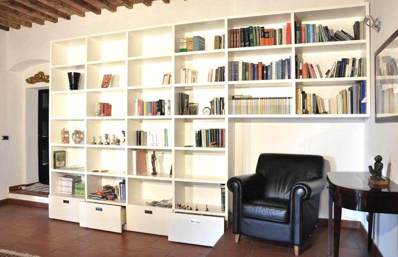 Libreria in cartongesso foto esempio