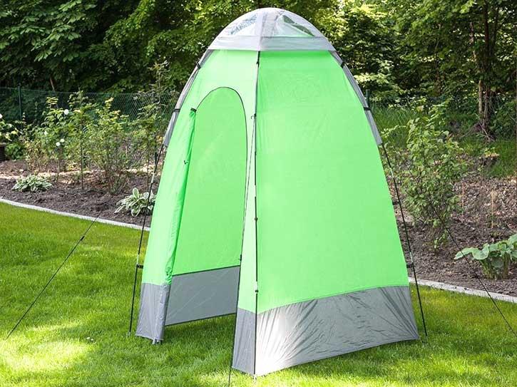 Cabina doccia da campeggio
