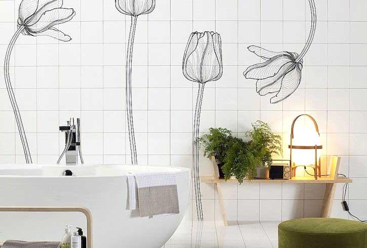 Ristrutturazione bagno Brescia foto idea 1 stile eco-naturale
