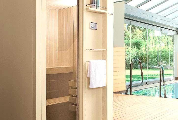 Ristrutturazione bagno Verona foto idea sauna