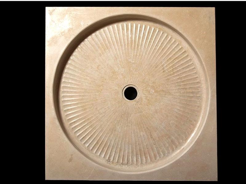 piatto doccia antiscivolo in pietra