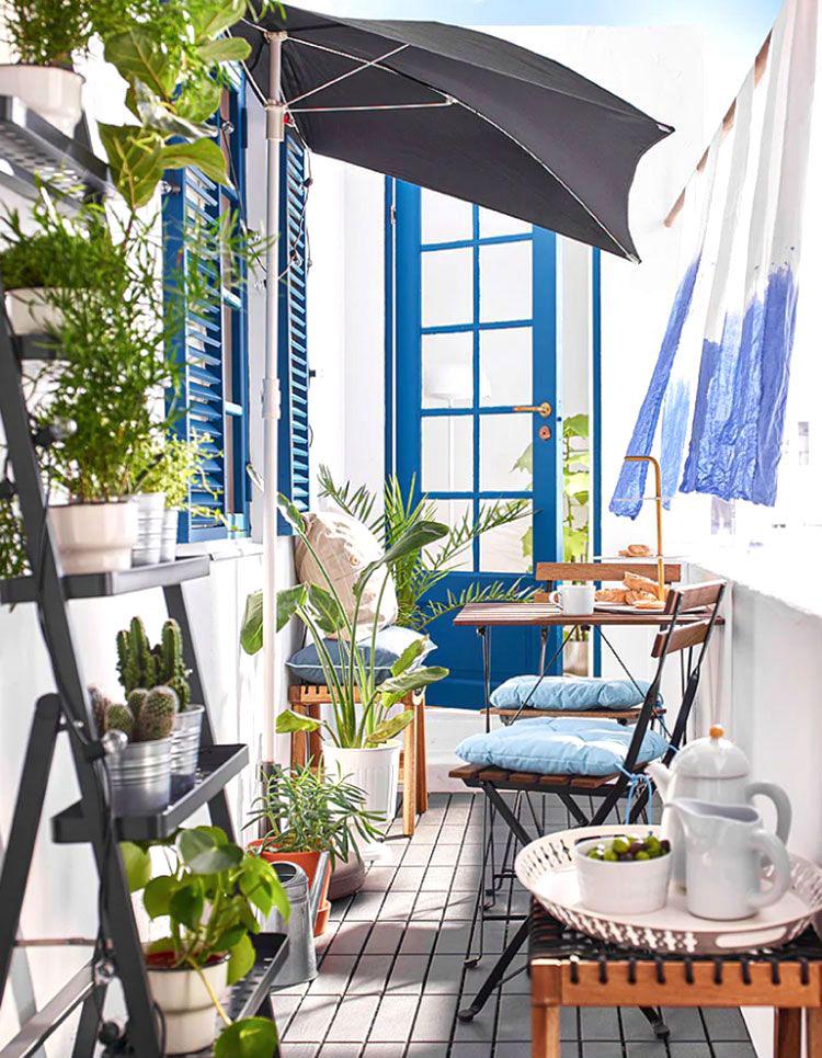 rifacimento piccolo balcone roma