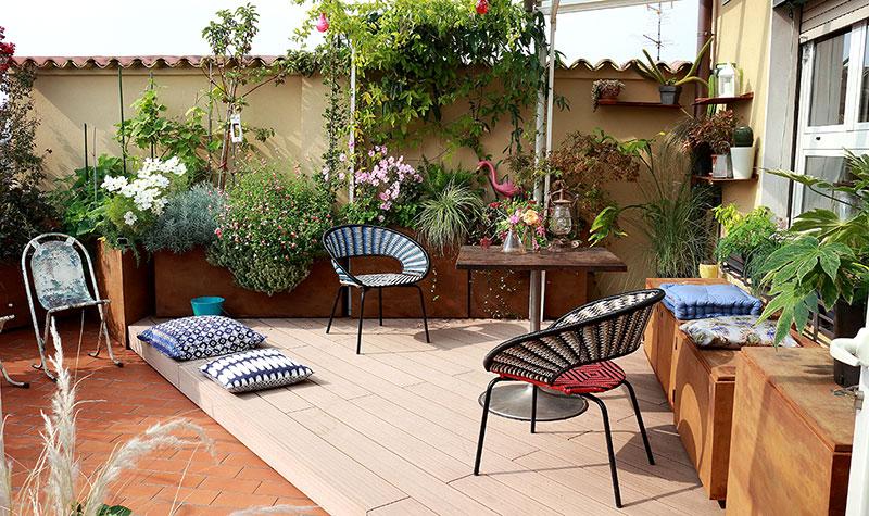 terrazza ricostruita a milano