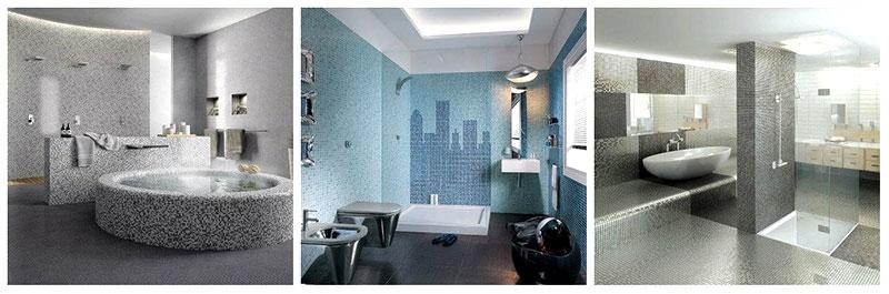 rivestimento effetto mosaico idea 2