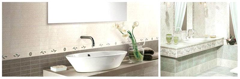 esempio di rivestimento per il bagno del conca
