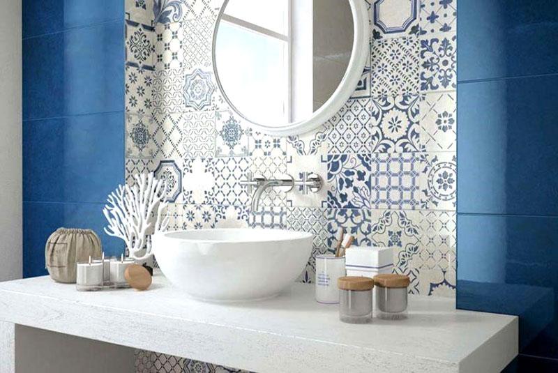 rivestimento in piastrelle per bagno
