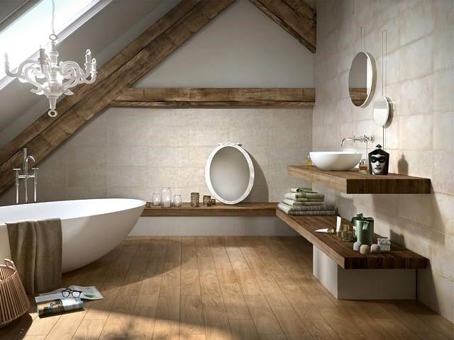 rivestimento effetto cemento per bagno