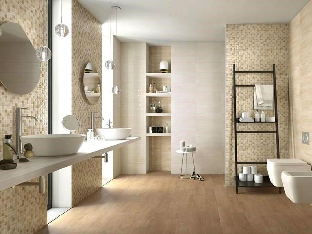 rivestimento per il bagno con effetto marmo