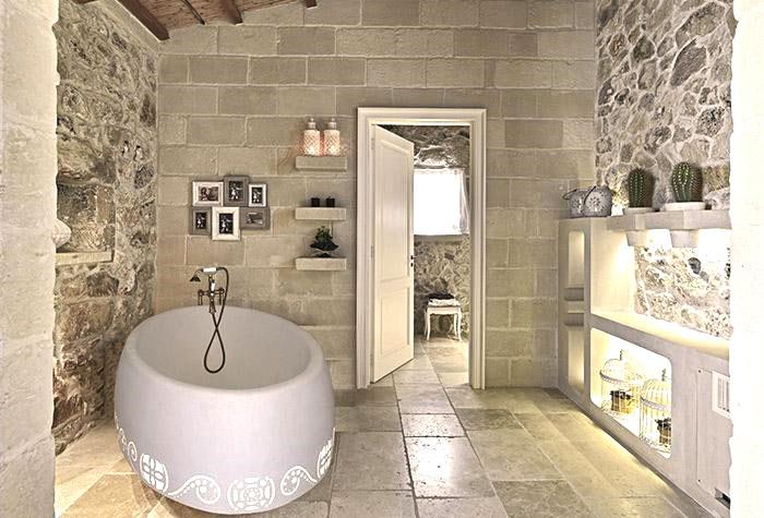 idea 3 rivestimento bagno effetto pietra