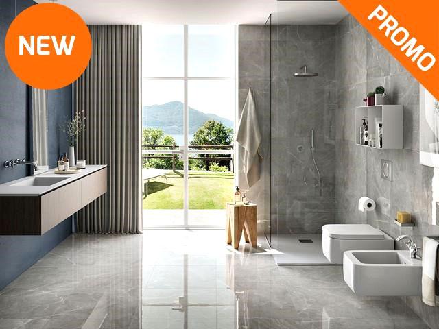 rivestimento effetto marmo lucidissimo per bagno