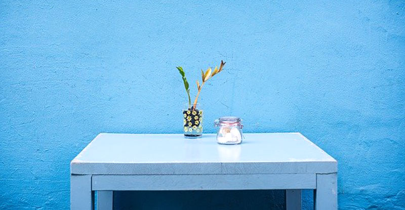 Arredo terrazzo Blu e sue sfumature
