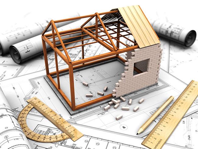 casa nuova in costruzione