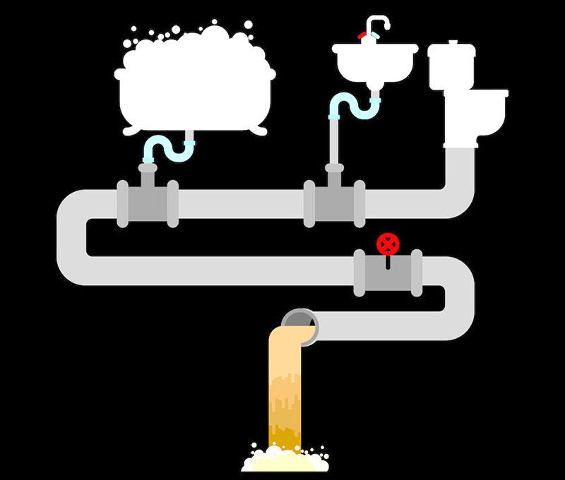 Tipologia impianti casa: l'impianto fognario