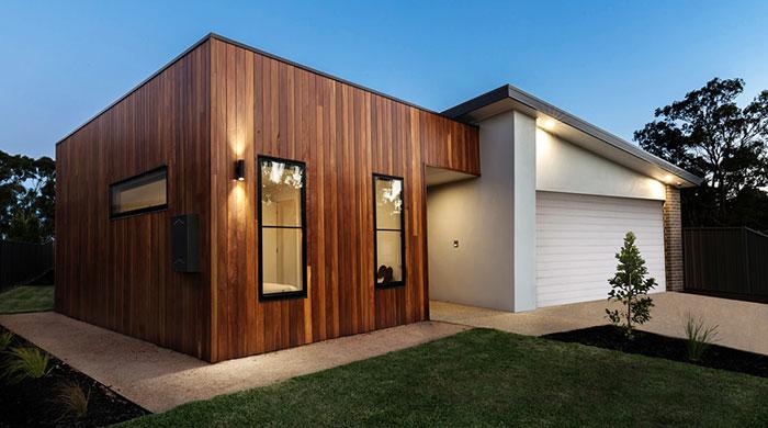 casa in legno nuova dopo opera di demolizione