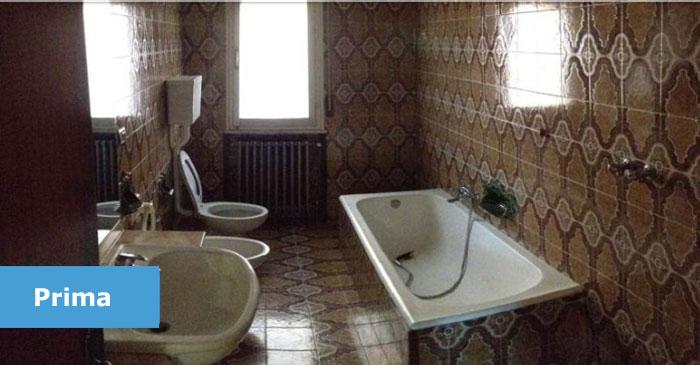 immagine di un bagno tipico degli anni 60