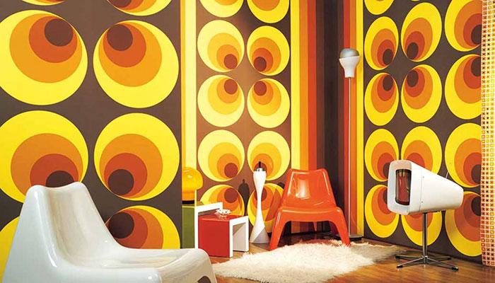 fantasia parete anni 70