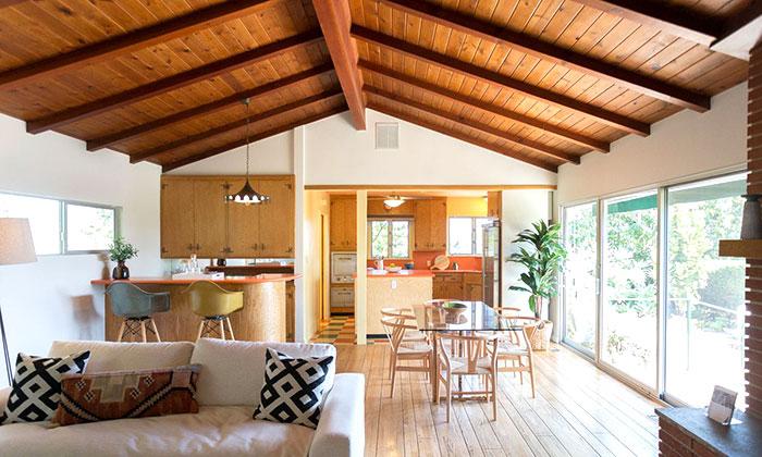 rifacimento tetto in legno per casa moderna
