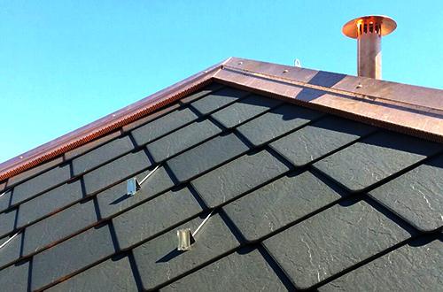 copertura in ardesia per tetto