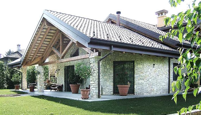 tipologia di tetto a falda