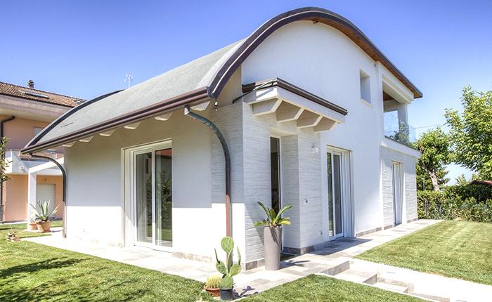 tipologia di tetto curvo